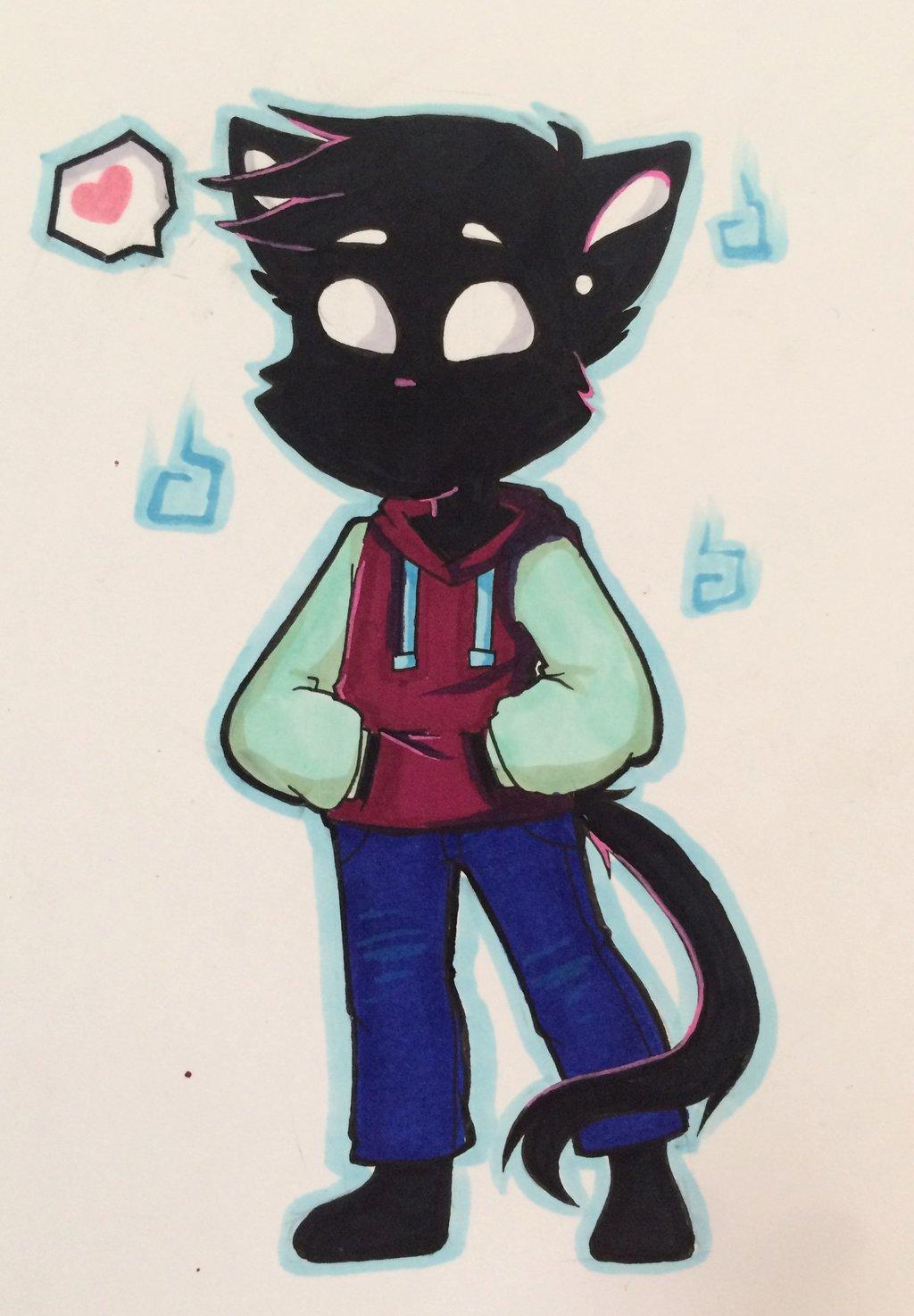 1024x1474 Cool Cat By Sakuui