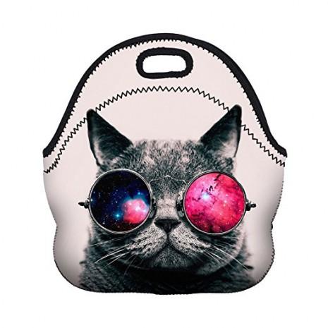 465x465 Neoporene Lunch Bag Cool Cat