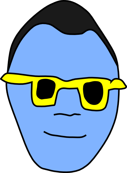 438x597 Cool Dude Clip Art