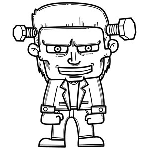 300x300 10 Cool Coloring Pages for Boys to Print Out For Free