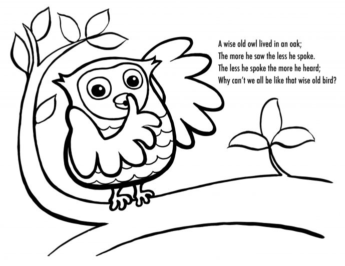 689x532 Coloring Page Cool Coloring Pages Draw An Owl Page Coloring