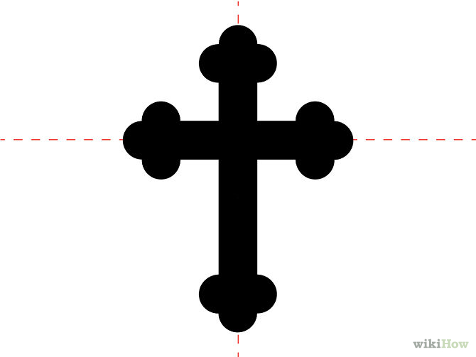 670x503 Cool Crosses To Draw