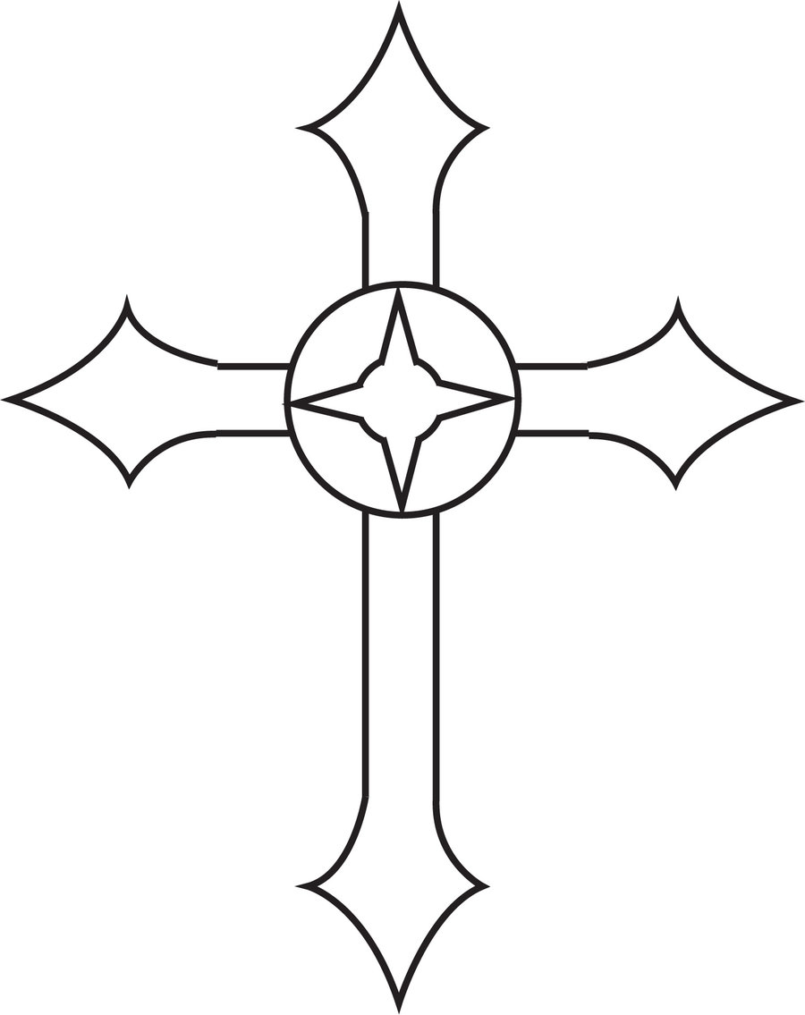 900x1135 Metal Cross Design 1 By Oakheart12