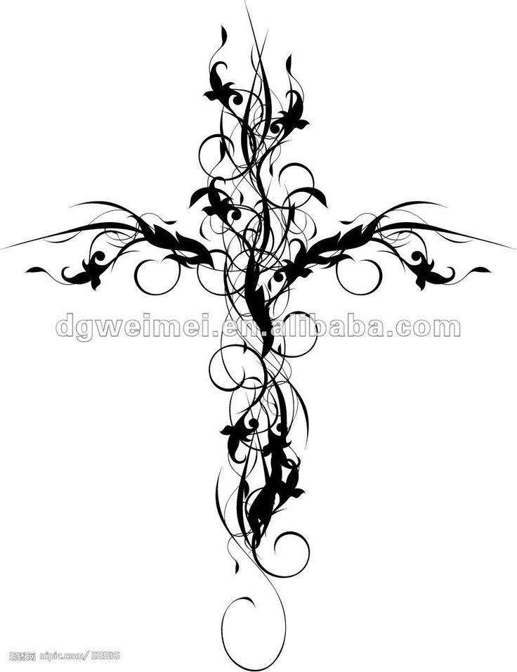 736x956 Best Feminine Cross Tattoos Ideas Girl Cross