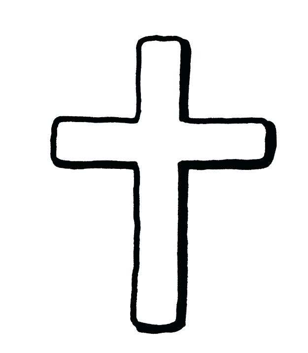 625x717 Cross Clipart The Fifth Station Helps Carry The Cross Best Best