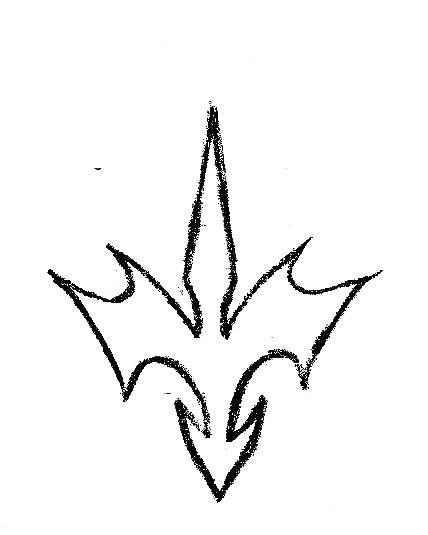 428x535 Dragon Symbol By Crimsonangelofshadow