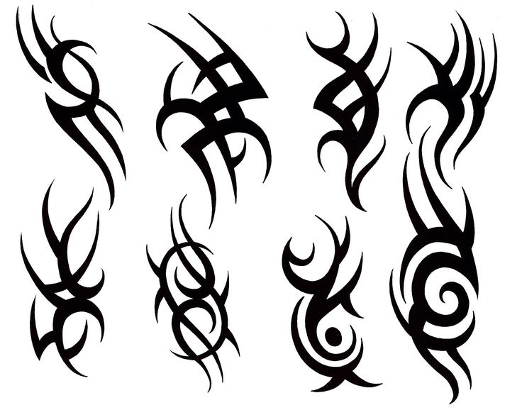 736x578 33 Best Tribal Tattoo Designs For Men Sketches Images