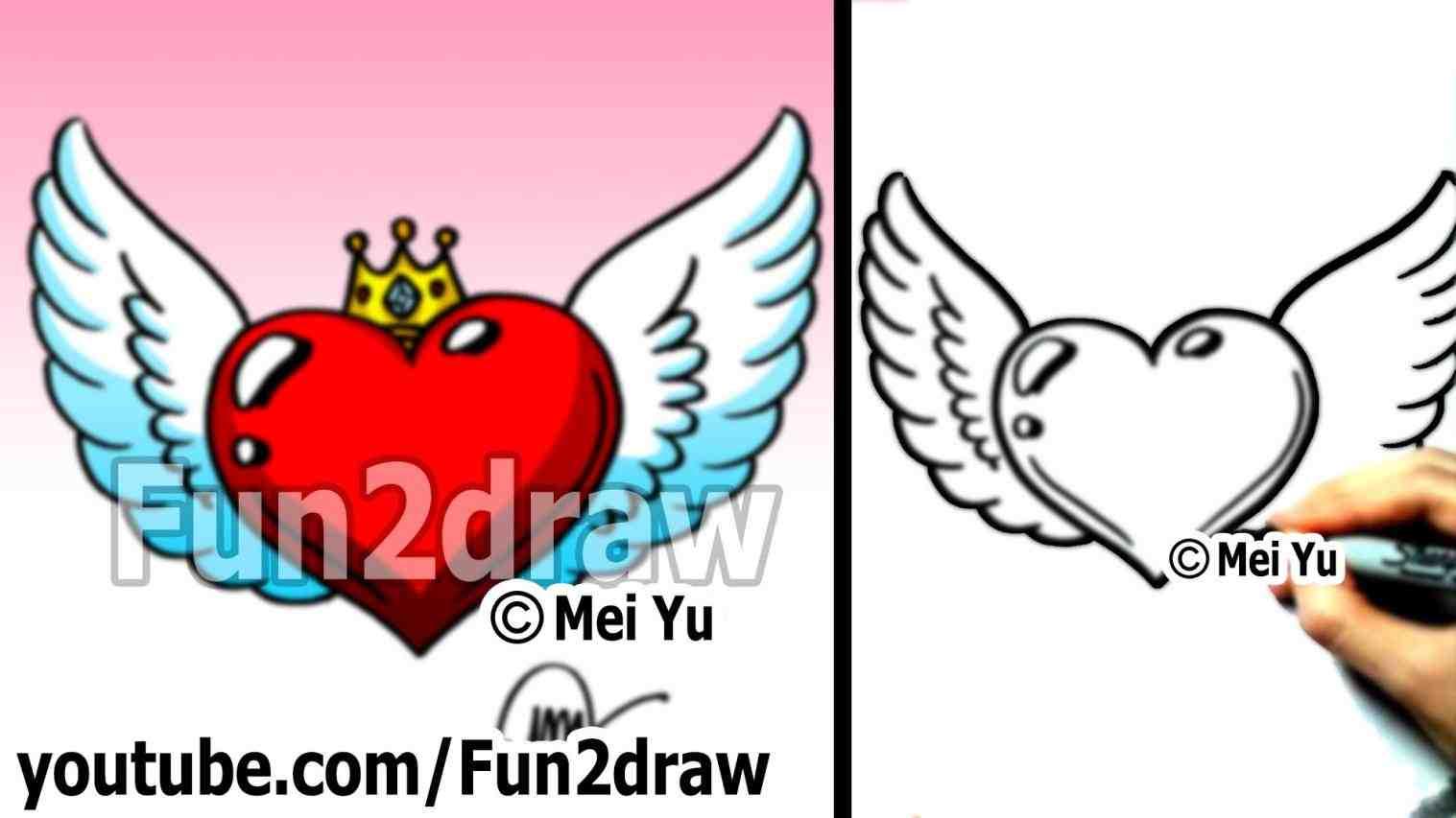1517x853 Cool Easy Drawings Of Wings