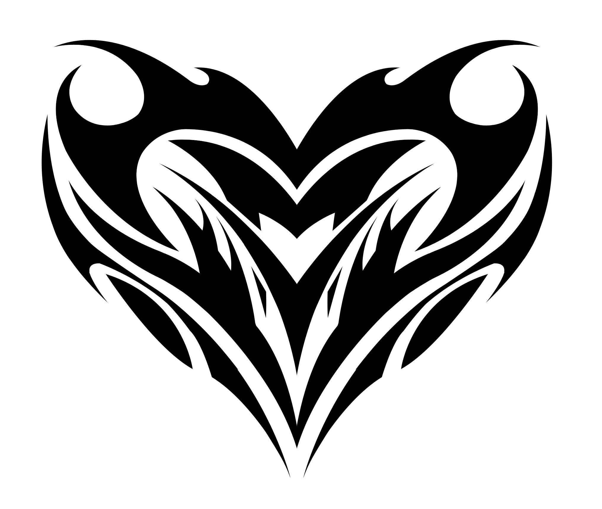 2031x1716 Cool Heart Designs To Draw