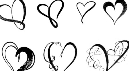 450x250 Cool Heart Designs To Draw