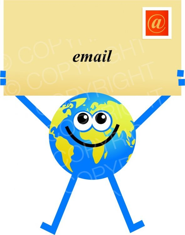 591x750 Cool Email Cartoon Images Cartoon Email Globe Clip Art