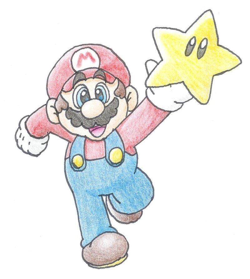 800x893 Mario's Star By Minimariodrawer