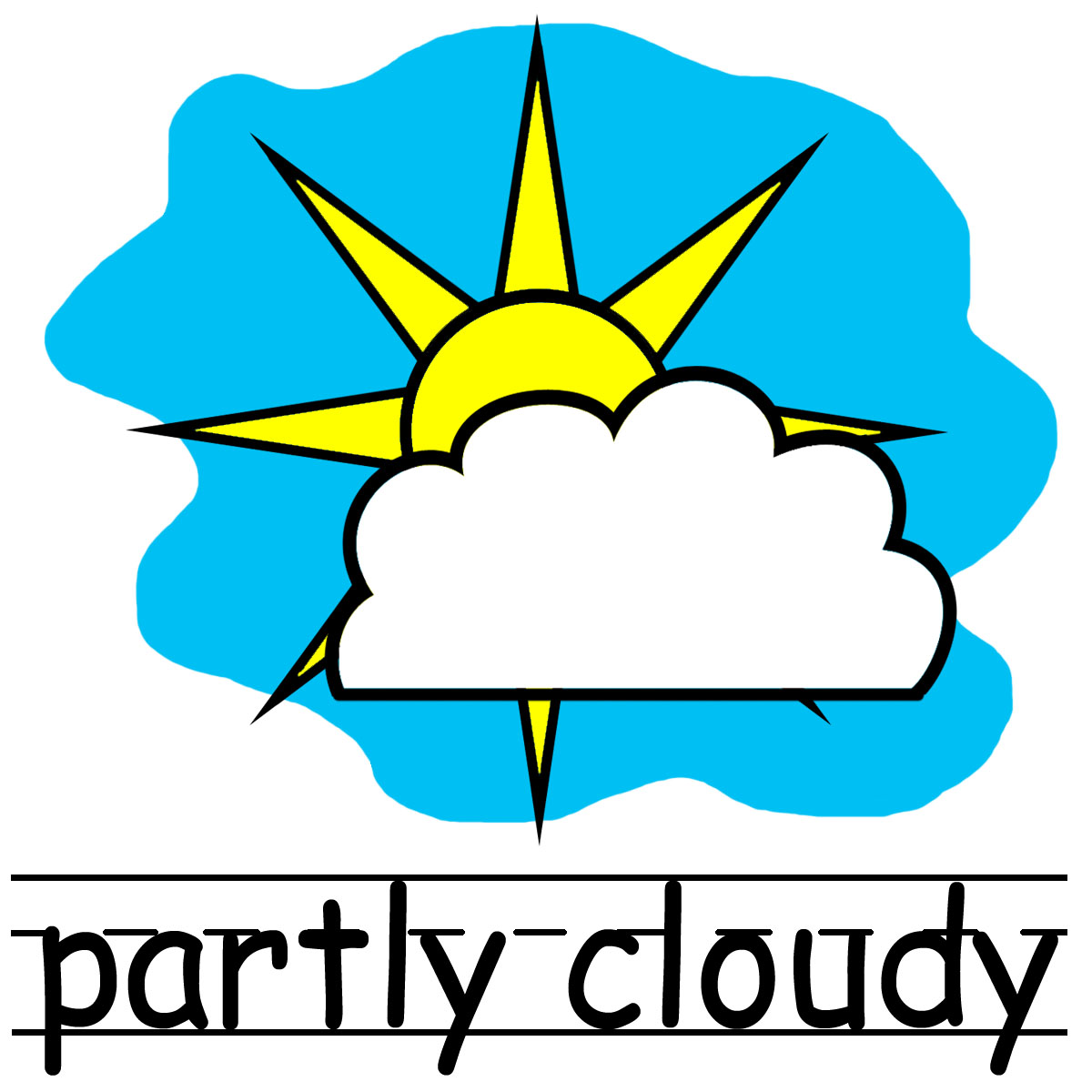 1200x1200 Cool Clipart Windy