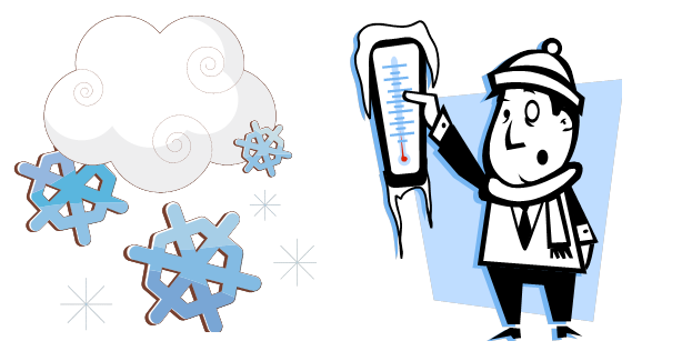 614x325 Funny Cold Weather Clipart