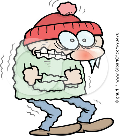 400x450 Funny Cold Weather Clipart
