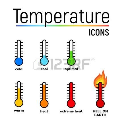450x450 Temperature Icon, Clip Art. Narrow Range Mercury Thermometer