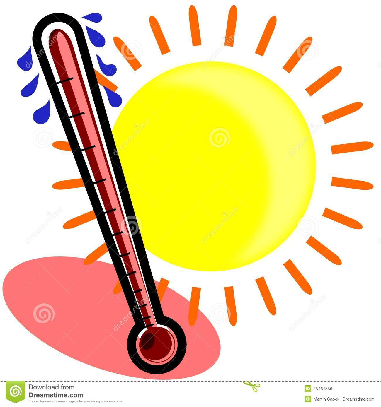 1300x1390 Weather Thermometer Hot Clipart Panda