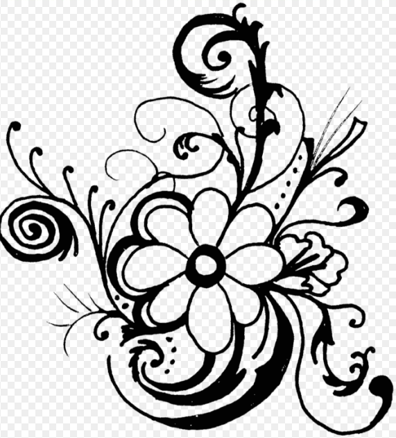 Coral Clipart Black And White