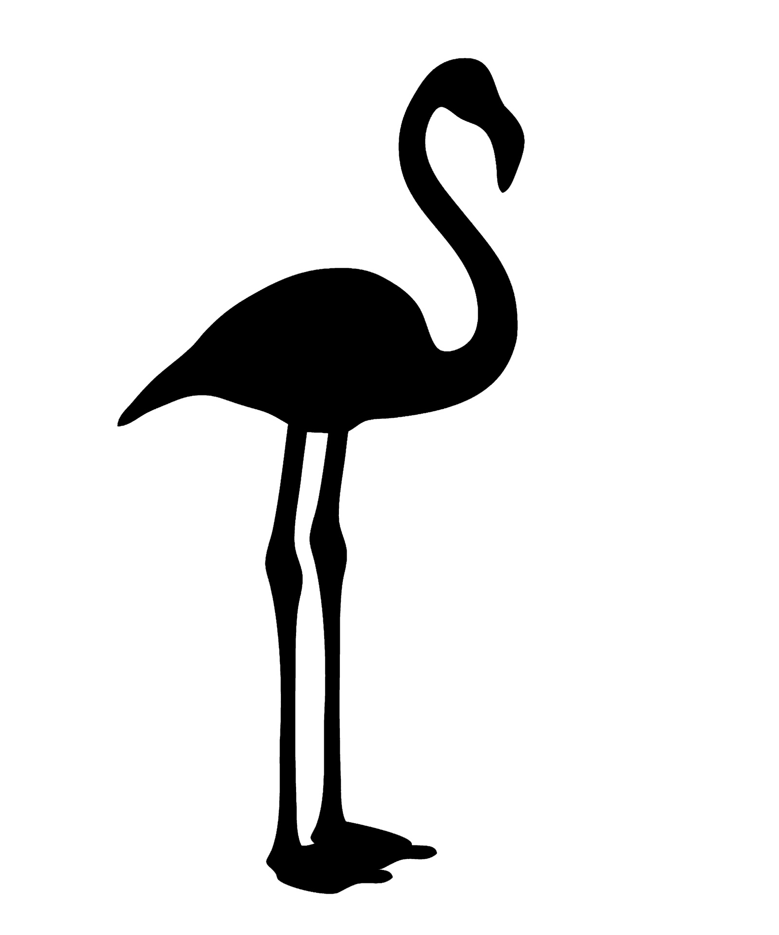 1600x1920 Top 81 Flamingo Clip Art