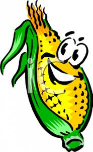 185x300 Art Image A Smiling Ear Of Corn