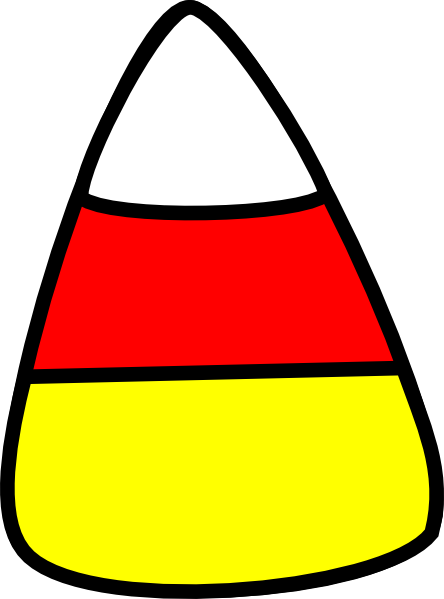 444x599 Candy Corn Clip Art Black And White Free Clipart