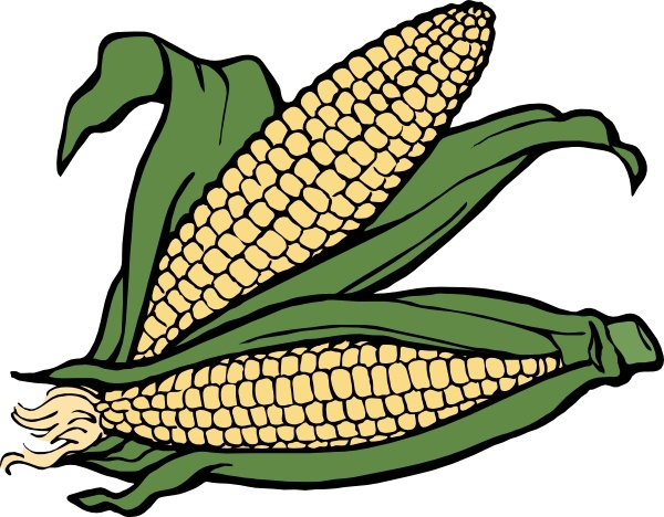 600x468 Corn Clipart Black And White Free Images