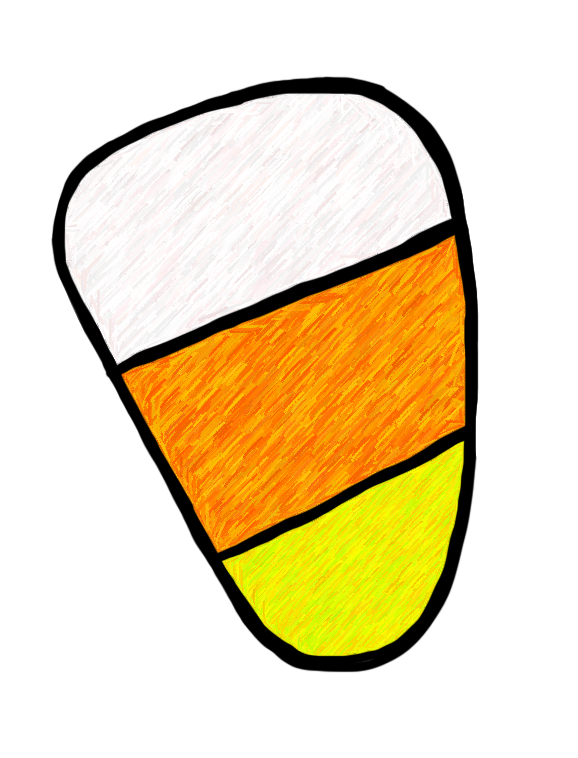 578x758 Candy Corn Black And White Candyrn Clip Art Black