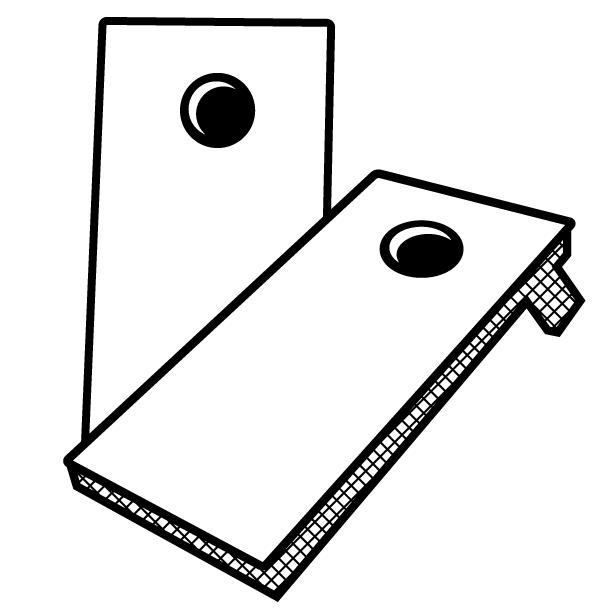 612x612 Custom Pro Cornhole Boards Board Men Cornhole Gear