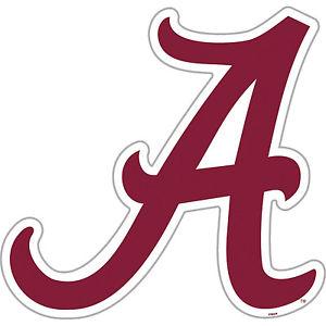 300x300 University Of Alabama Crimson Tide Large Logo Cornhole Decals