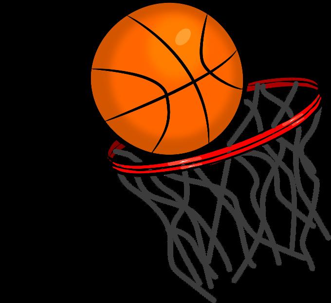 680x623 Basketball Hoop Decals