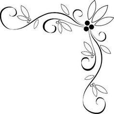 236x236 Purple Roses Corner Border Designs Wedding Invitation Borderg