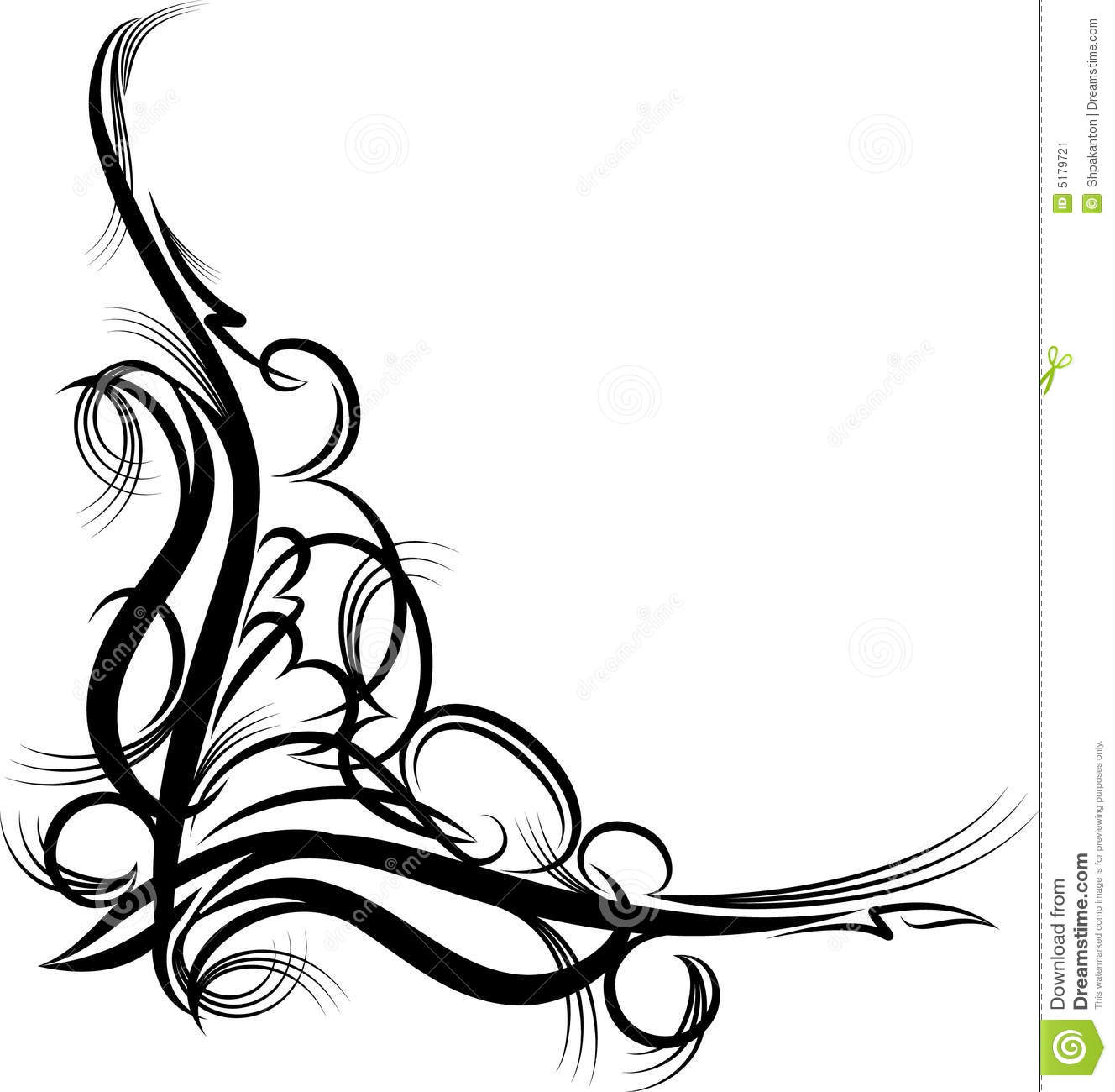 1328x1300 Ornamental Clipart Corner Decoration
