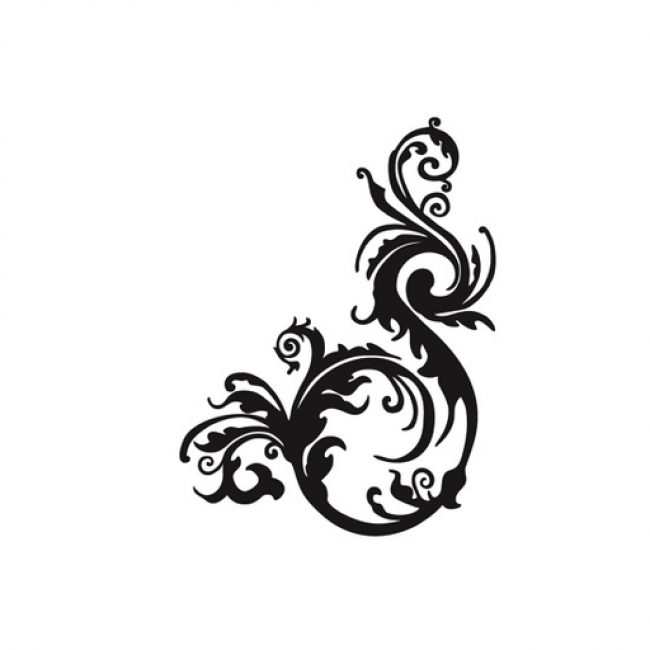 650x650 Best Corner Scroll Designs