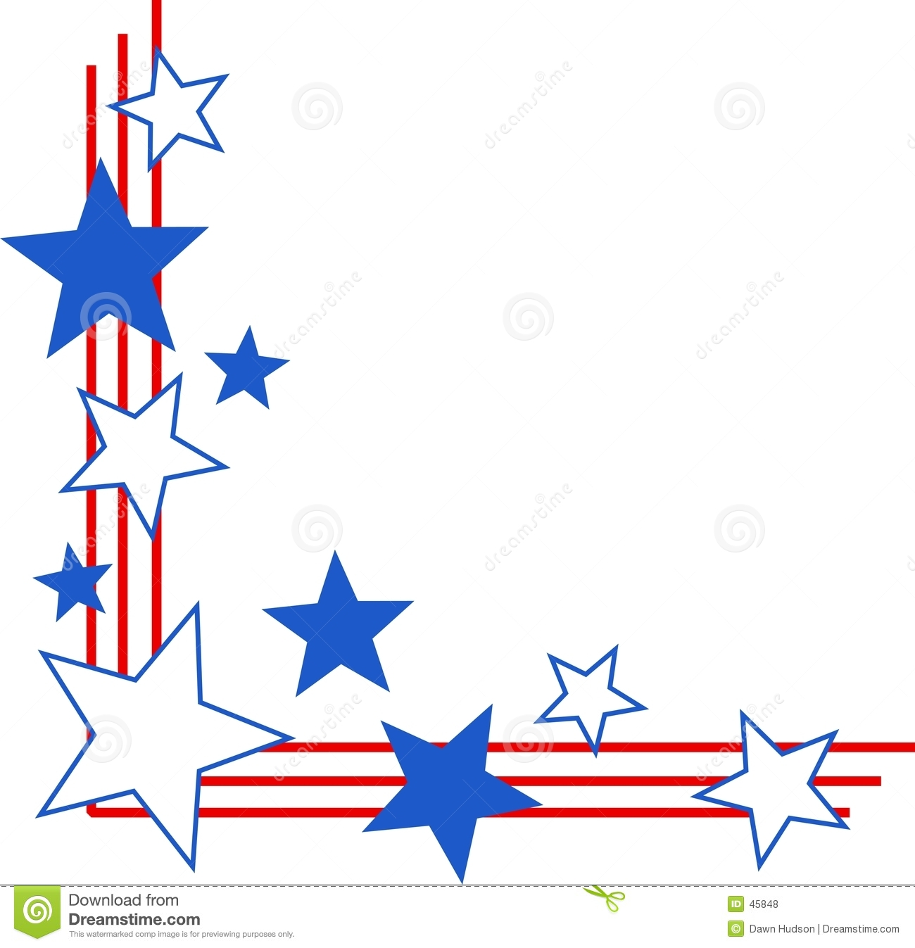 1300x1347 Patriotic Border Clipart