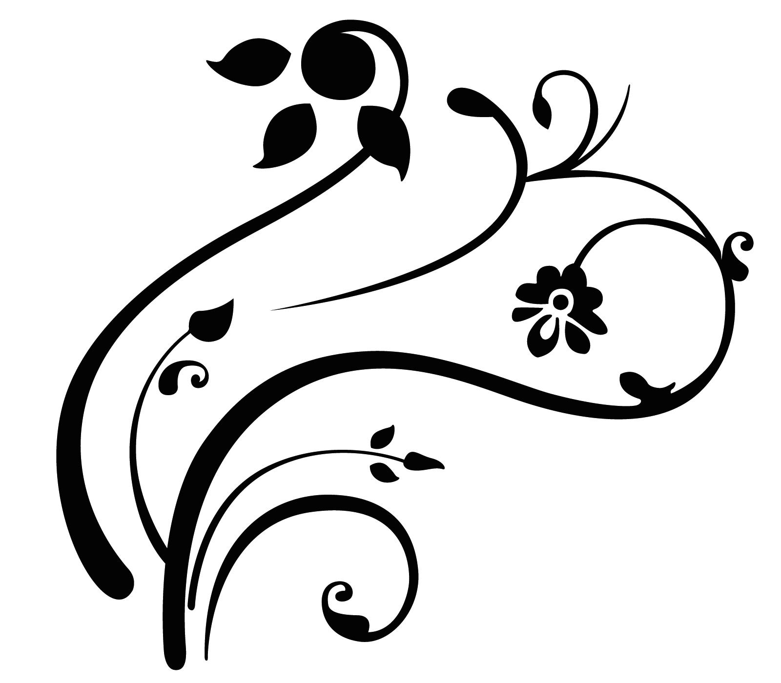 1600x1400 Swirl Designs Clip Art Free
