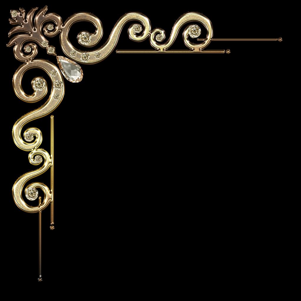 1024x1024 Decorative Corner With Citrine In Gold By Lyotta