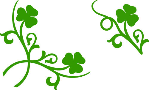 500x303 Shamrock Corner And Accent Svg Files Images By Heather M's Blog