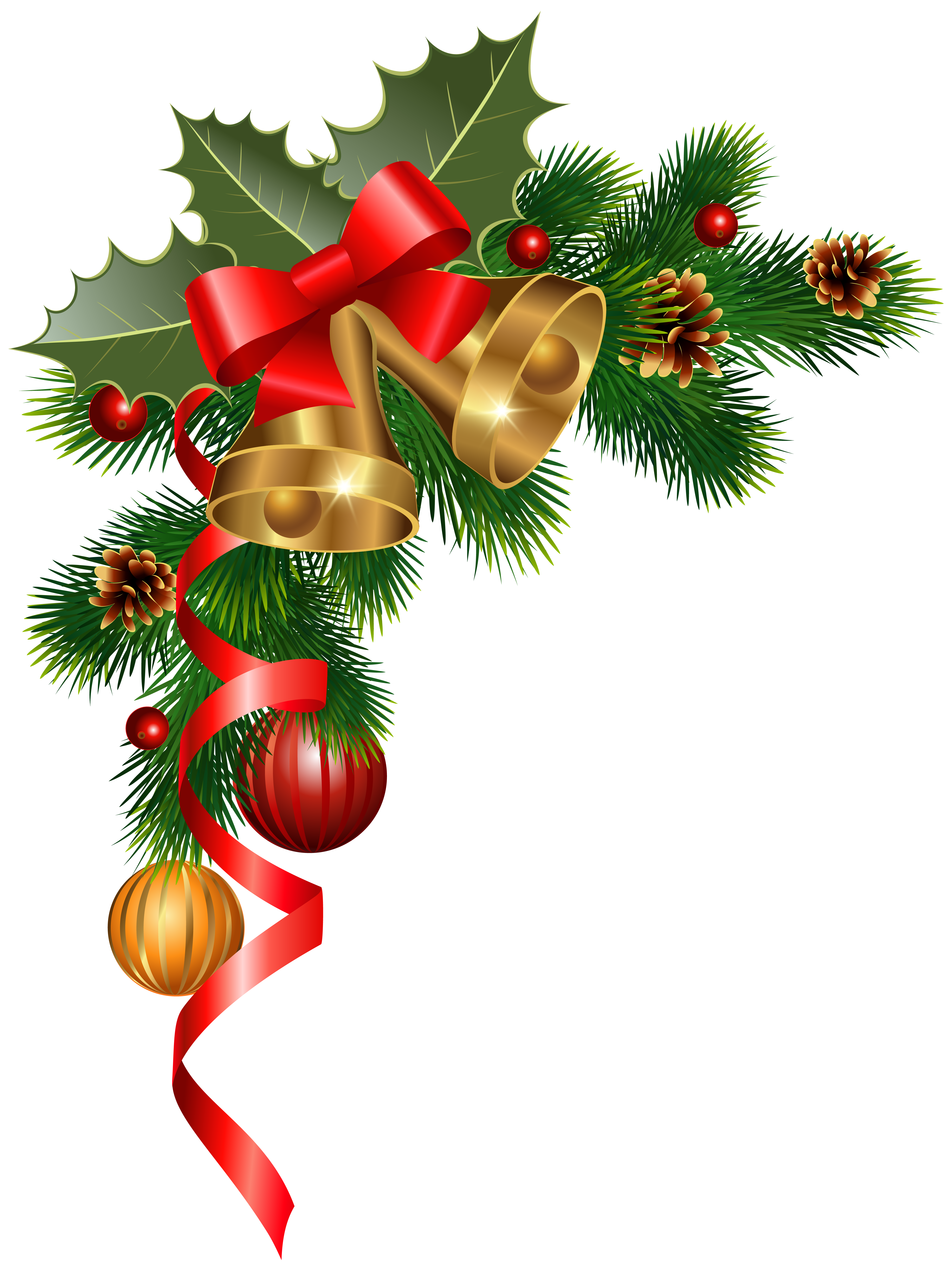 4613x6160 Christmas Corner Decoration Png Clipart Imageu200b Gallery