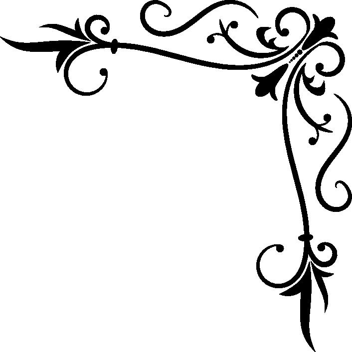 706x706 Scroll Clipart Corner