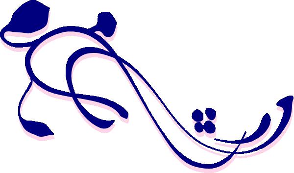 600x353 Corner Flourish Clip Art