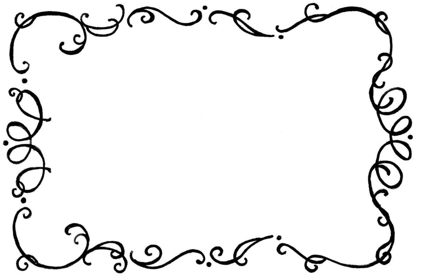 1348x894 Flourish Border Clip Art