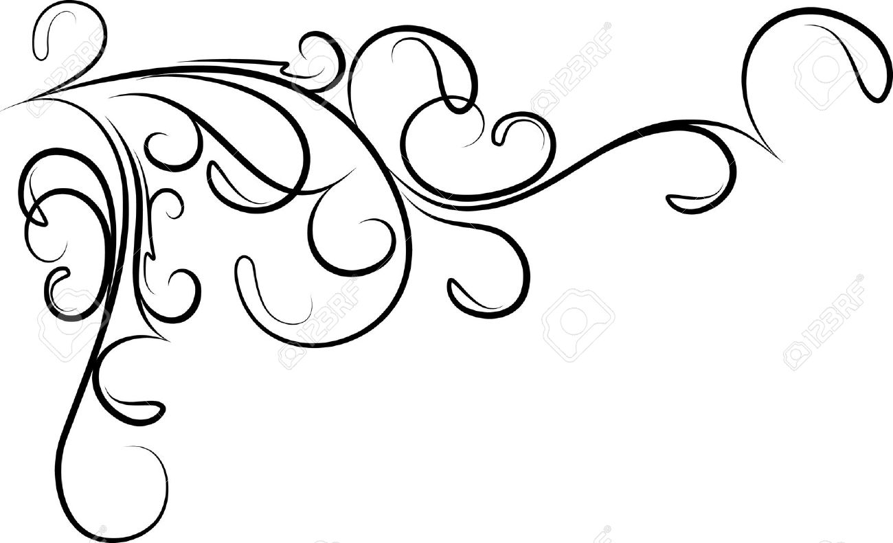 Corner Flourishes Clipart | Free download on ClipArtMag