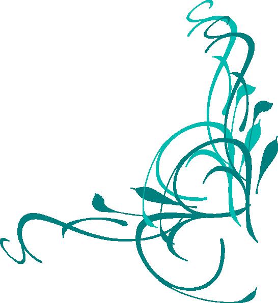 546x596 Wedding Swirl Clipart