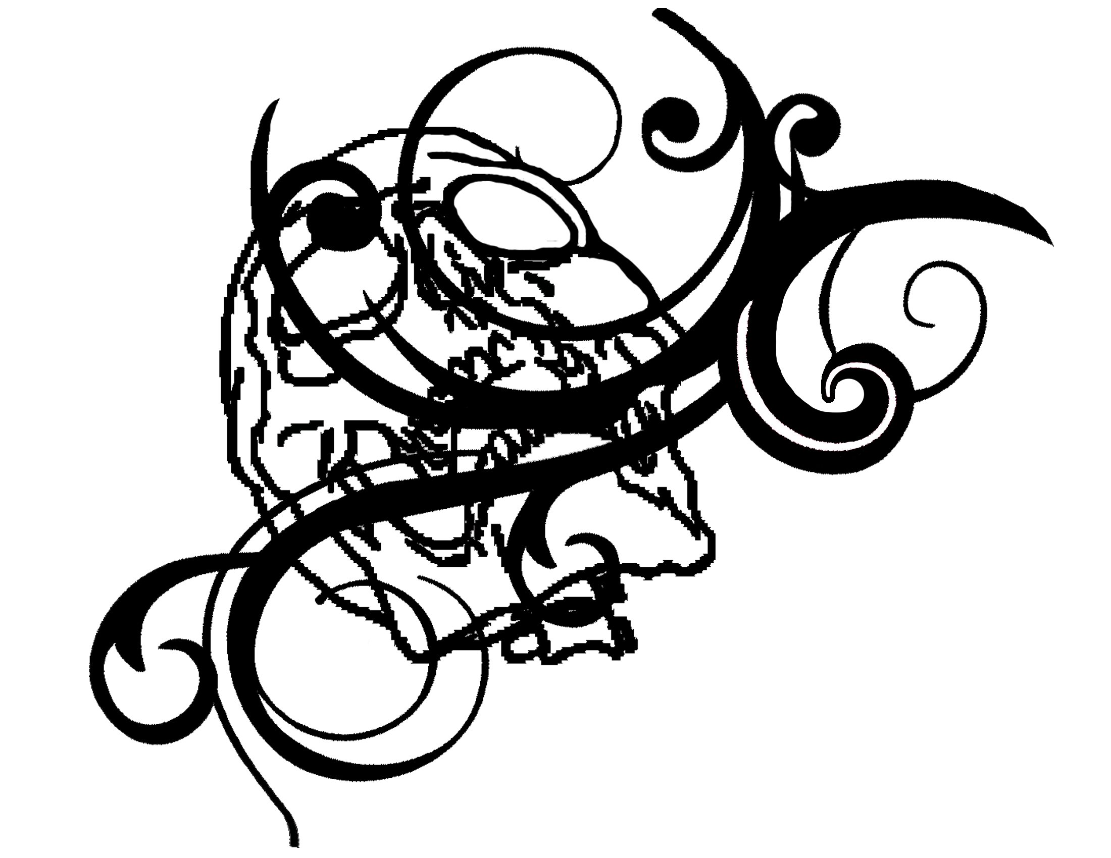 2200x1700 Corner Scroll Clip Art Png Clipart Panda