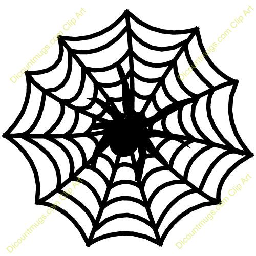 500x500 Spider Web Clipart