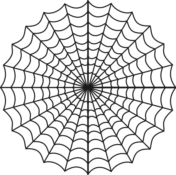 600x597 Graphics For Spider Web Vector Graphics