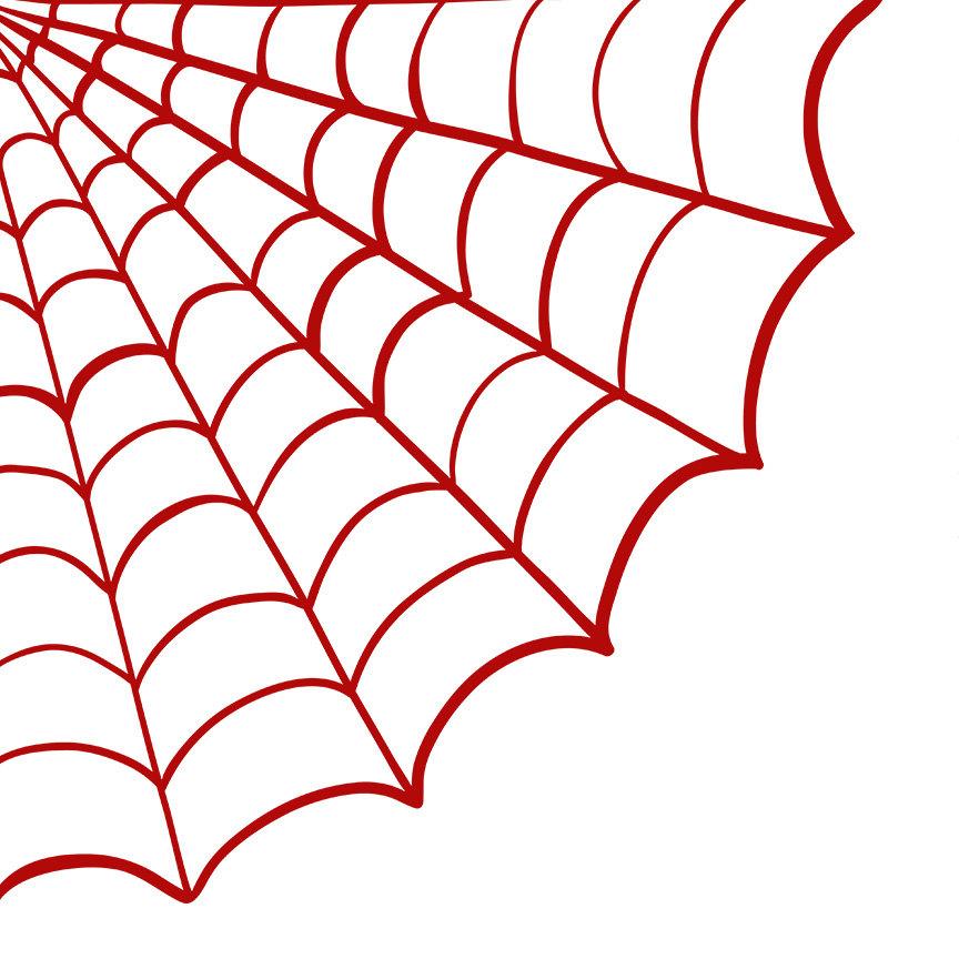 864x864 Spider Web Clip Art, Spooky Halloween Clip Art, Digital Stamps +