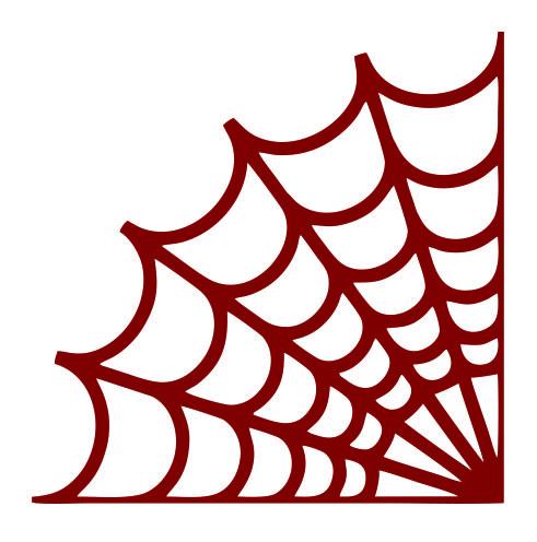 491x496 Spider Webs Cuttable Design
