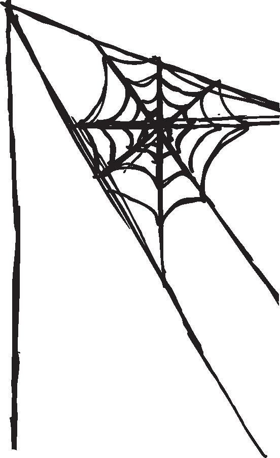 552x902 Clip Art Spider Web