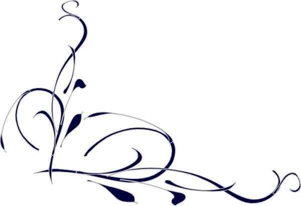 600x411 Elegant Swirl Designs Clip Art Elegant Swirls Clipart Pictures 4